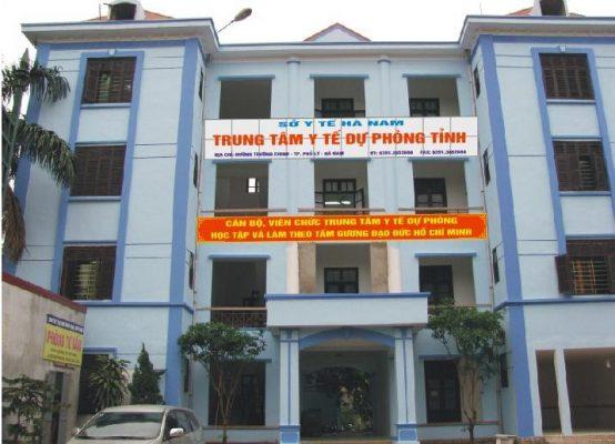 Danh sách địa chỉ xét nghiệm hiv miễn phí Hà Nam